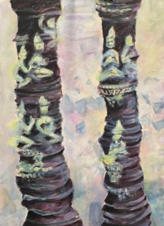 Column of Buddha oil